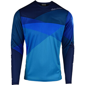 Troy Lee Designs Sprint LS Jersey Men jet/ocean/blue